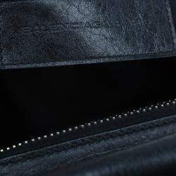 Balenciaga Black Quilted Matellase Leather Bag
