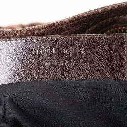 Balenciaga Charbon Leather GGH City Tote