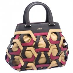 Bally Multicolor Leather Pixie Tote