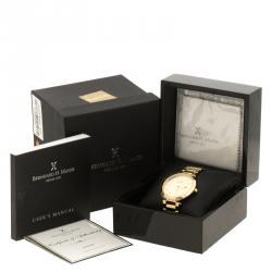 Bernhard H. Mayer Gold Plated Stainless Steel Aurora Women's Wristwatch 40 mm