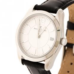 Bernhard H. Mayer White Stainless Steel Stella Women's Wristwatch 34 mm