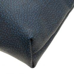 Borbonese Navy Blue PVC Clutch