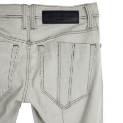Burberry Skinny Fit Zip Cuff Jeans XS