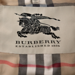 Burberry Beige Belted Coat S