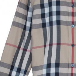 Burberry Novacheck Long Sleeved Shirt Top M