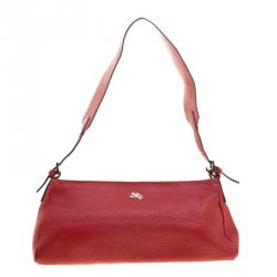 dd44b7ada84f Buy Coach Red Pebbled Leather Clarkson Hobo 161885 at best price