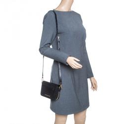 Burberry Black Leather Crossbody Bag