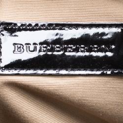 Burberry Beige Supernova Check PVC Bilmore Tote