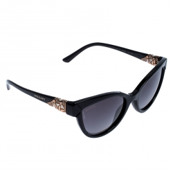Bvlgari Black Gradient 8156-B Cateye Sunglasses