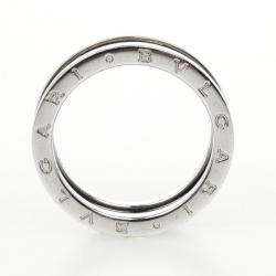 Bvlgari Charity Sterling Silver Ring Size 67