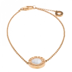 Bvlgari Bvlgari Mother of Pearl 18K Rose Gold Bracelet ML