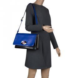 d1d1ac9e26 Buy Saint Laurent Fuschia Leather Monogram Université Flap Bag ...