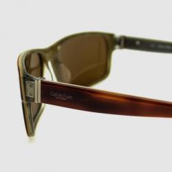 Calvin Klein Amber Havana CK7813SP Unisex Sunglasses
