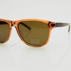 Calvin Klein Orange Frame Polarized CK7855SP Sunglasses