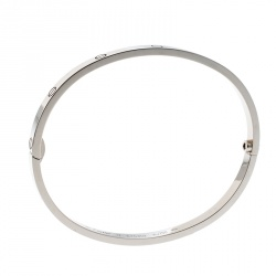 Cartier Love 18k White Gold SM Bracelet 17cm