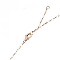 Cartier Trinity de Cartier Heart Three Tone 18k Gold Pendant Necklace
