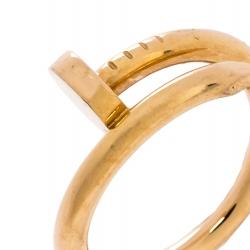 Cartier Juste Un Clou 18K Rose Gold Ring Size 55