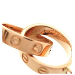 Cartier Love 18K Rose Gold Bracelet
