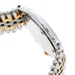 Cartier Silver Grey Stainless Steel Must De Cartier 21 Women's Wristwatch 31 mm