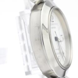 Cartier White Stainless Steel Pasha W31074M7 Women's Wristwatch 35 MM