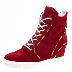 9eb1a867159 Buy Pre-Loved Authentic Casadei Sneakers for Women Online | TLC