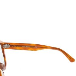 Celine Honey Brown/ Green CL40046U Aviator Sunglasses