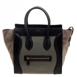 cae61c546b Buy Celine Tri Color Python and Leather Micro Luggage Tote 116923 at ...