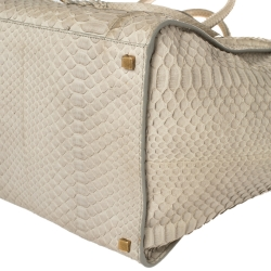 Celine Grey Python Medium Phantom Luggage Tote