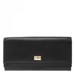 345207668d Buy Dolce and Gabbana Black Leopard Print Leather Dauphine ...