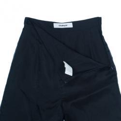 Chalayan Silk Split Wide Leg Pants S