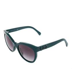 Chanel Dark Green Gradient 5315-A Wayfarer Sunglasses