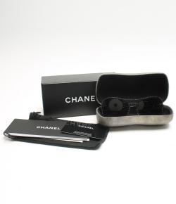 Chanel Black 71108 Shield Runway Sunglasses