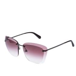 Chanel Purple Gradient 4221 Rimless Sunglasses