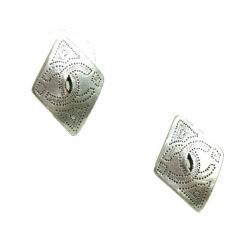 Chanel Coco Mark Pierced Earrings