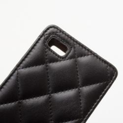 Chanel iPhone 4/4S Black Padded Case