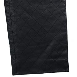 Chanel Quilted Stitch Leather Pants S