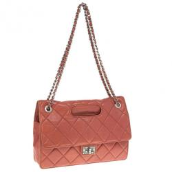 Chanel Red Leather Reissue Flap Bag