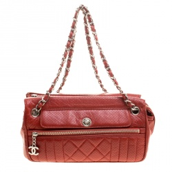 3c67ed31d3bc Buy Marc Jacobs Brown Quilted Leather Chain Shoulder Bag 134657 at ...