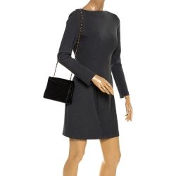 Chanel Black Quilted Leather Vintage Flap Shoulder Bag