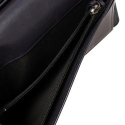 Chanel Metallic Purple Leather CC Bifold Wallet