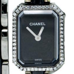 Chanel Black Lacquered Dial Premiere Women's Watch 23MM