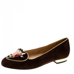 95d66c959 Buy Pre-Loved Authentic Charlotte Olympia Flats for Women Online | TLC