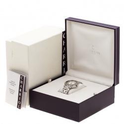 Charriol Cream Stainless Steel RT38 Women's Wristwatch 38 mm