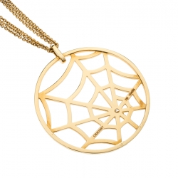 Chaumet Catch Me If You Love Me  Spider Diamond Yellow Gold Necklace