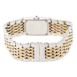 Chaumet Cream Stainless Steel Khesis 121 Women's Wristwatch 19 mm
