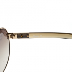 Chloe Gold/Brown Gradient CL2207 Aviator Sunglasses