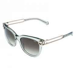 Chloe Clear Green  CE679S Wayfarer Sunglasses