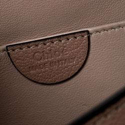 Chloe Beige Leather Medium Elsie Shoulder Bag
