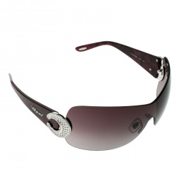 6c5e88c29c Chopard Burgundy Burgundy Gradient SCH 939S Shield Sunglasses