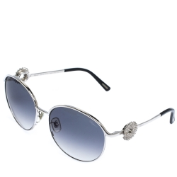 Chopard White Gold Plated/Blue Gradient SCHB21S Special Edition Sunglasses